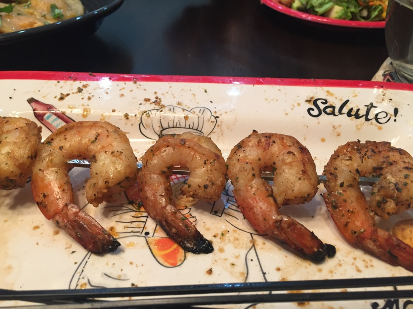 Uncle Rick's shrimp